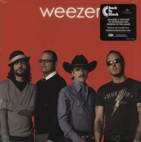 Weezer Weezer [The Red Album] - 180gram Vinyl + Sealed vinyl LP album (LP record) UK WEELPWE754899