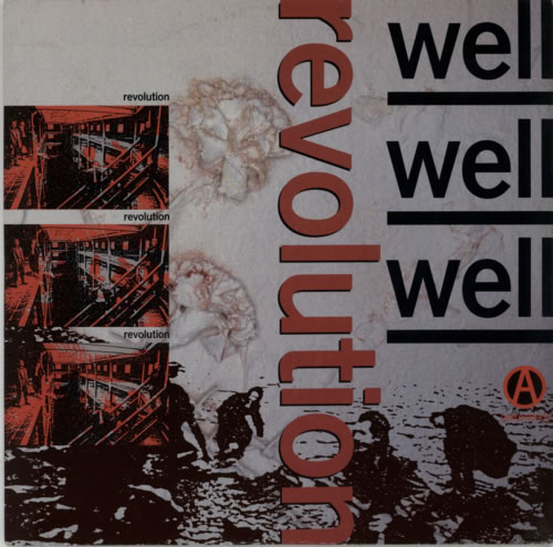 "Well Well Well Revolution 12"" vinyl single (12 inch record / Maxi-single) UK WE812RE605602"