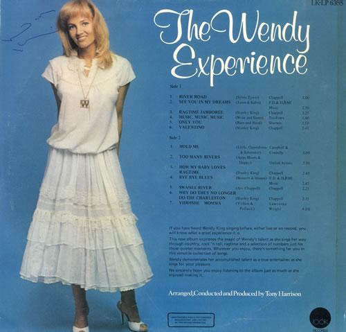 Wendy King The Wendy Experience vinyl LP album (LP record) UK WF7LPTH550903