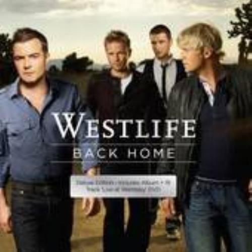Westlife Back Home 2-disc CD/DVD set Australian WLI2DBA433227