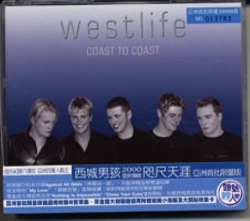 Westlife Coast To Coast + poster & cards CD album (CDLP) Taiwanese WLICDCO171142