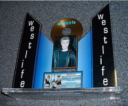 Westlife Coast To Coast - Bryan award disc Mexican WLIAWCO275559