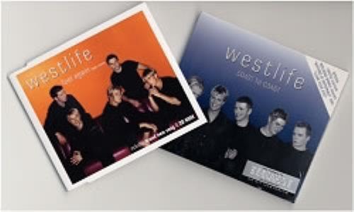 Westlife Coast To Coast 2 CD album set (Double CD) Singapore WLI2CCO176251