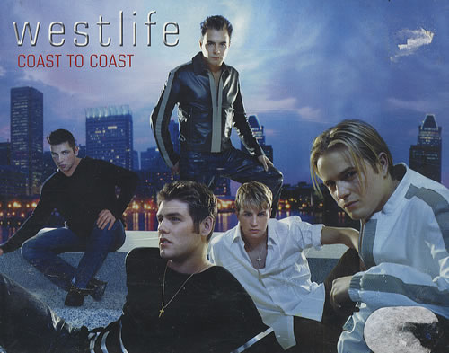 westlife coast to coast thailand double cassette 190369