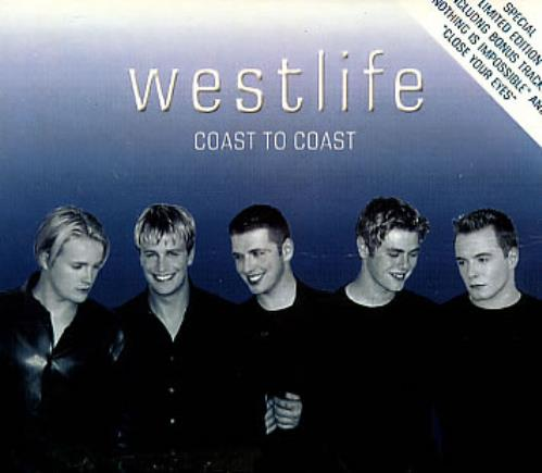 Westlife Coast To Coast 2 CD album set (Double CD) Hong Kong WLI2CCO312509