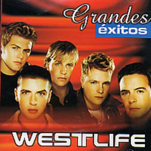 Westlife Grandes Exitos CD album (CDLP) Venezuelan WLICDGR264709