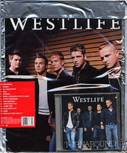 cd westlife turnaround 2003