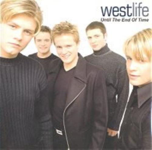 "Westlife Until The End Of Time CD single (CD5 / 5"") Taiwanese WLIC5UN164765"