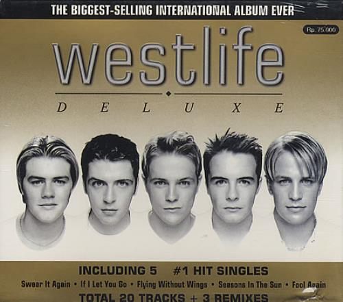 Westlife Westlife Deluxe 2 CD album set (Double CD) Indonesian WLI2CWE158751