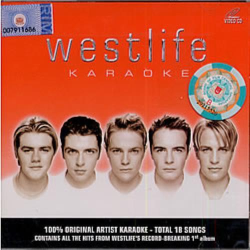 Westlife Westlife Karaoke Video CD Singapore WLIVDWE183874