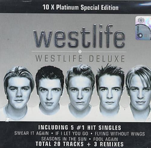 Westlife Westlife 2 CD album set (Double CD) Malaysia WLI2CWE310176