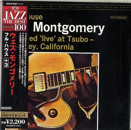 Wes Montgomery Full House CD album (CDLP) Japanese WMGCDFU545956