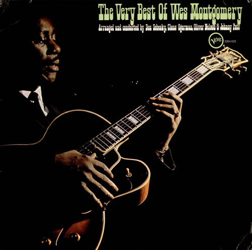 Wes Montgomery The Very Best Of Wes Montgomery German vinyl LP album