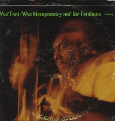 Wes Montgomery Wes's Best US vinyl LP album (LP record) (364323)