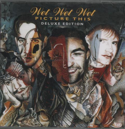 Wet Wet Wet Picture This - Sealed Deluxe Edition CD album (CDLP) UK WETCDPI653536