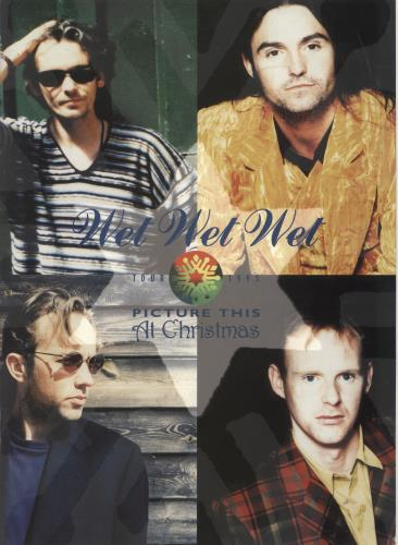 Wet Wet Wet Picture This At Christmas - Tour 1995 tour programme UK WETTRPI288263