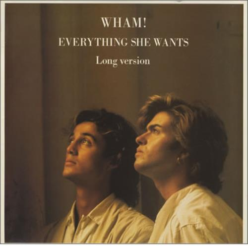 Wham Everything She Wants Us 12 Quot Vinyl Single 12 Inch