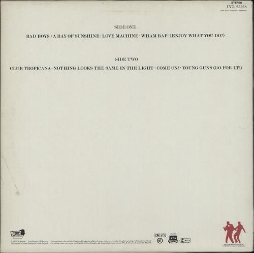 Wham Fantastic + Inner vinyl LP album (LP record) UK WHALPFA758093