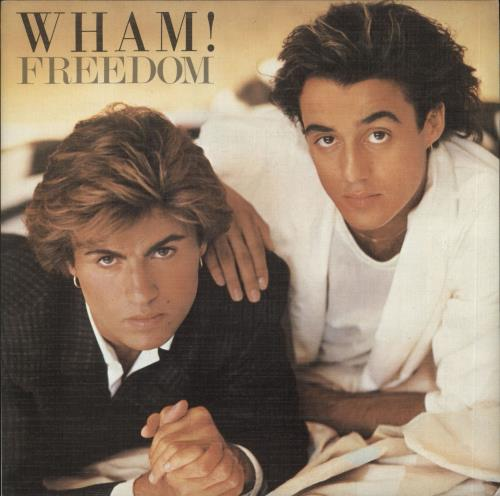 "Wham Freedom 7"" vinyl single (7 inch record) Spanish WHA07FR727408"