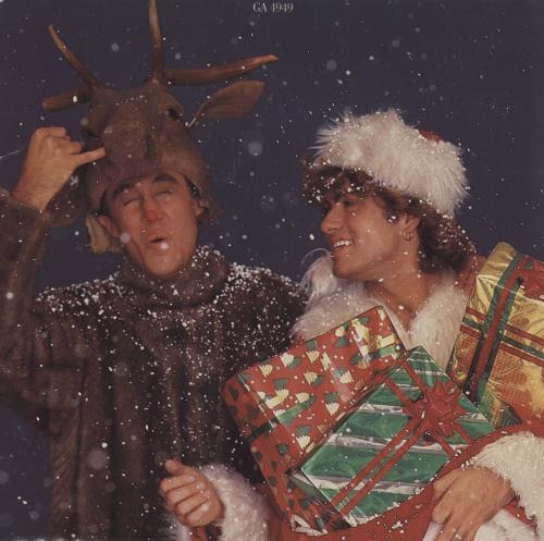 "Wham Last Christmas - Gatefold Sleeve - EX 7"" vinyl single (7 inch record) UK WHA07LA760376"