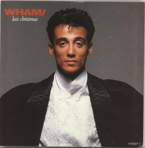 "Wham Last Christmas UK 7"" vinyl single"
