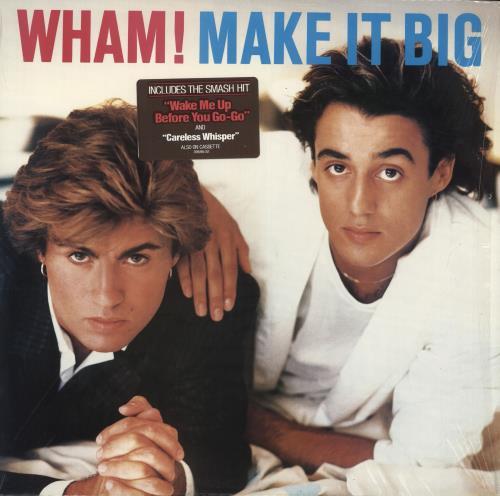 Wham Make It Big Stickered Shrink Us Vinyl Lp Album Lp