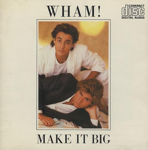 Wham Make It Big CD album (CDLP) UK WHACDMA207520
