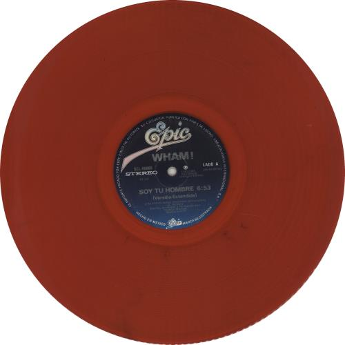 Wham Soy Tu Hombre Red Vinyl Mexican 12 Quot Vinyl Single