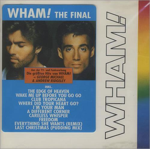 Wham The Final German Cd Album Cdlp 383743