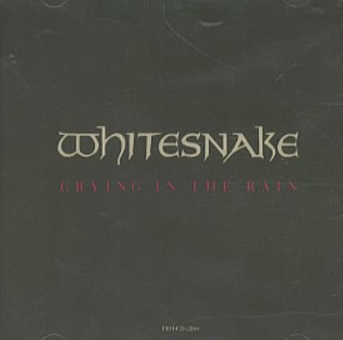 "Whitesnake Crying In The Rain CD single (CD5 / 5"") US WHIC5CR112510"