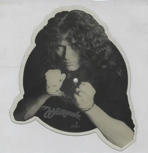 Whitesnake Guilty Of Love shaped picture disc (picture disc vinyl record) UK WHISHGU09110