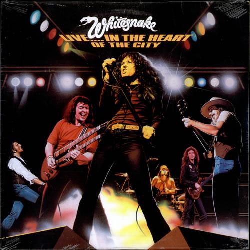 Whitesnake Live In The Heart Of The City Us Vinyl Lp