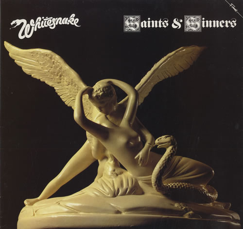 Whitesnake Saints & Sinners vinyl LP album (LP record) UK WHILPSA564922