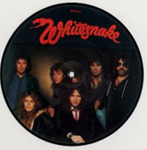 "Whitesnake Standing In The Shadow 7"" vinyl picture disc 7 inch picture disc single UK WHI7PST64642"