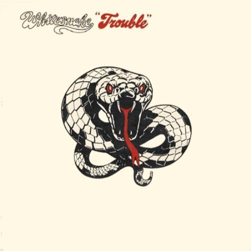 Whitesnake Trouble UK vinyl LP album (LP record) (394836)