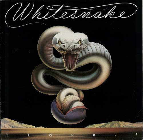 Whitesnake Trouble UK vinyl LP album (LP record) (575341)