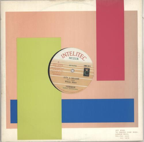 "White Mice It's A Shame 12"" vinyl single (12 inch record / Maxi-single) US YZV12IT712274"