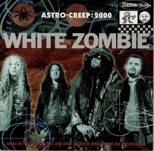 White Zombie Astro-Creep: 2000 - Purple Vinyl vinyl LP album (LP record) UK WHZLPAS97385