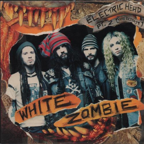 "White Zombie Electric Head Pt.2 CD single (CD5 / 5"") US WHZC5EL65188"
