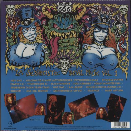 White Zombie La Sexorcisto: Devil Music Vol. 1 - 180gram Purple Vinyl + Numbered vinyl LP album (LP record) UK WHZLPLA682504