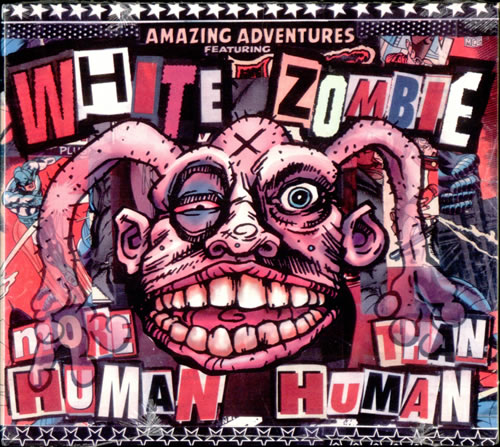 "White Zombie More Human Than Human - sealed CD single (CD5 / 5"") US WHZC5MO57556"