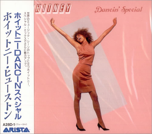 "Whitney Houston Dancin' Special CD single (CD5 / 5"") Japanese HOUC5DA13651"