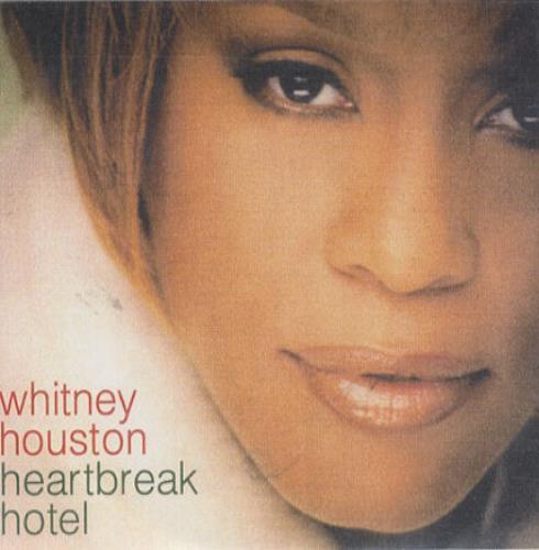 Whitney Houston Heartbreak Hotel - Picture sleeve CD-R acetate UK HOUCRHE171252