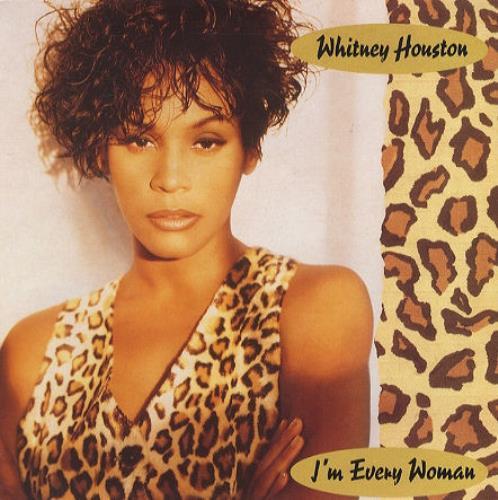 "Whitney Houston I'm Every Woman 7"" vinyl single (7 inch record) UK HOU07IM195630"