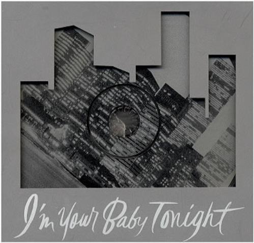 "Whitney Houston I'm Your Baby Tonight - Picture CD single (CD5 / 5"") US HOUC5IM15450"