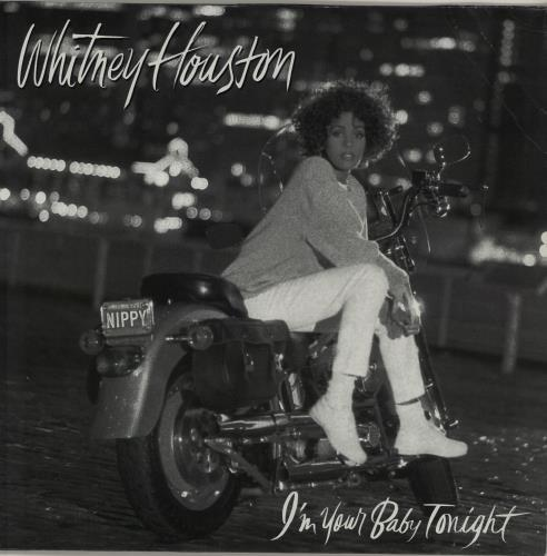 Whitney Houston I'm Your Baby Tonight vinyl LP album (LP record) German HOULPIM552039