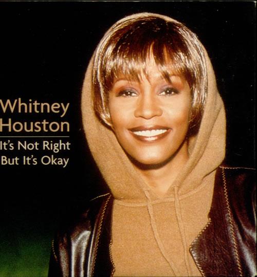 "Whitney Houston It's Not Right But It's Ok CD single (CD5 / 5"") UK HOUC5IT134913"