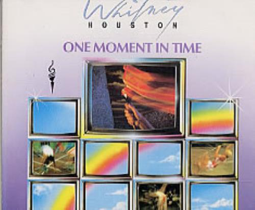 """Whitney Houston One Moment In Time CD single (CD5 / 5"""") German HOUC5ON23347"""