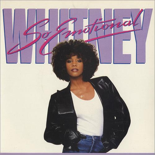 """Whitney Houston So Emotional 7"""" vinyl single (7 inch record) UK HOU07SO195714"""