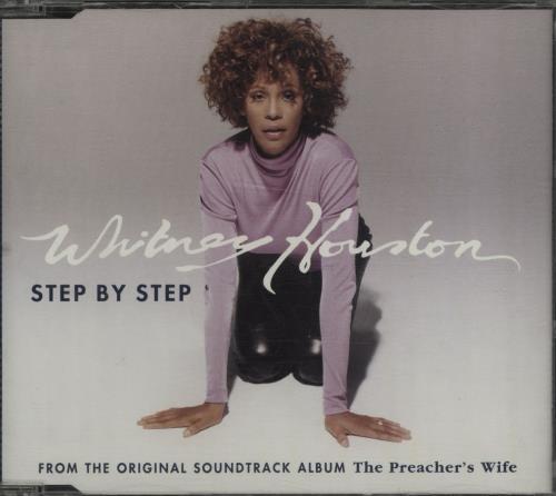 "Whitney Houston Step By Step CD single (CD5 / 5"") German HOUC5ST76629"